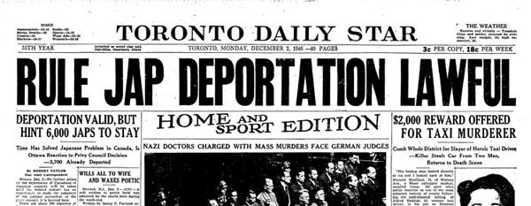 Toronto Daily Star (2 December 1946) 1
